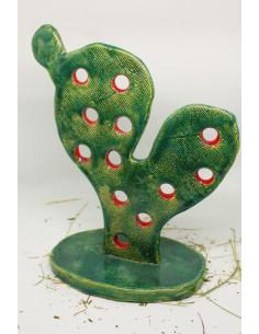 kaktus CERAMIKI WYJĄTKOWY ozdoba handmade rękodzieło prezent urodziny