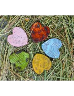 serca magnesy na lodówke CERAMIKI WYJĄTKOWY ozdoba handmade rękodzieło prezent urodziny