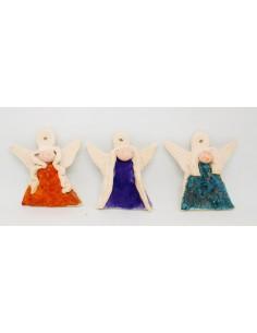 aniołek zawieszka CERAMIKI WYJĄTKOWY ozdoba handmade rękodzieło prezent urodziny