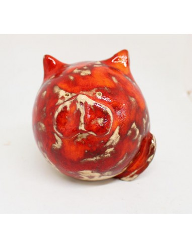 kot ceramika rękodzieło
