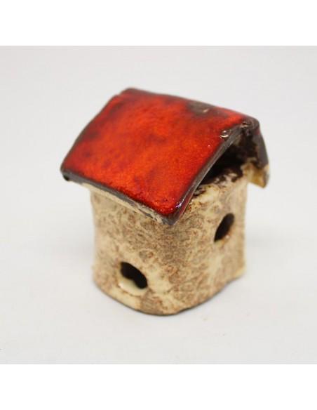 Mini Domek   do lasu w słoiku w szkle