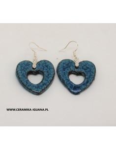 Piękne niebieskie kolczyki...