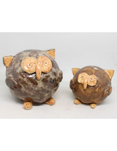 Ceramiczne SOWY ZESTAW  symbol...