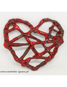 Serce ceramiczne-zawieszka...